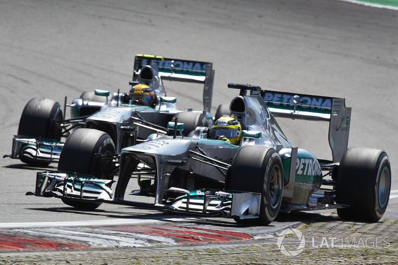 2013: Mercedes F1 W04 (три победы, 2-е место в КК)