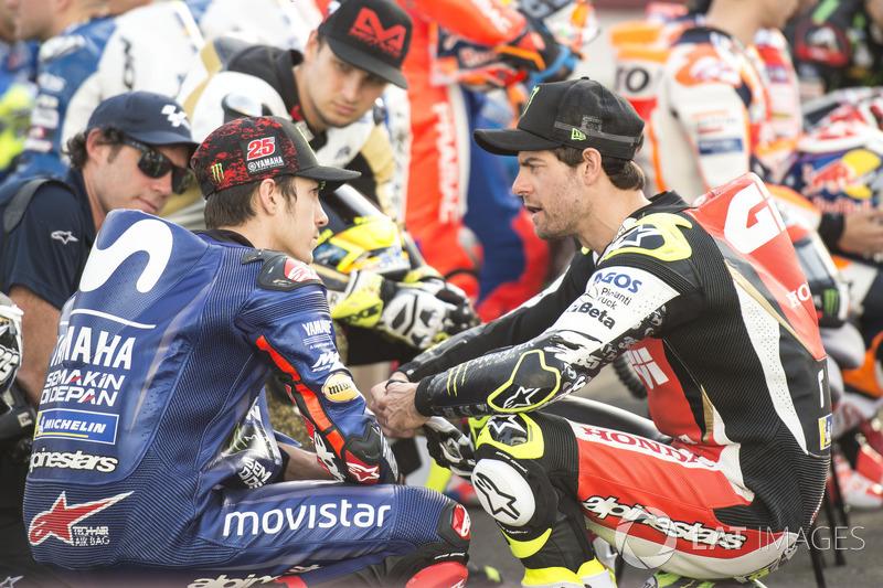 Кел Кратчлоу, Team LCR Honda, Маверік Віньялес, Yamaha Factory Racing