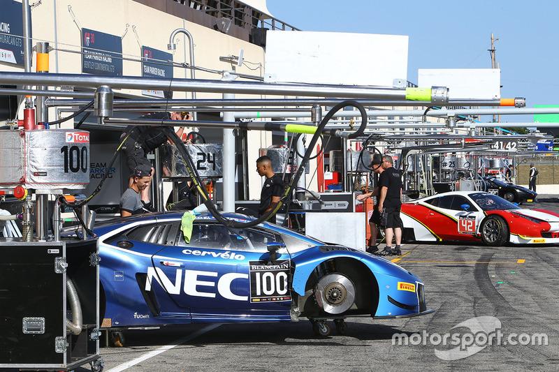 #100 Attempto Racing Lamborghini Huracan GT3: Max van Splunteren, Jeroen Mul