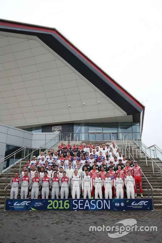 2016 groepsfoto met de rijders
