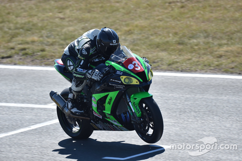 #3, AM Moto Racing Competition, Kawasaki - Jonathan Goetschy, Jimmy Maccio, Kevin Denis