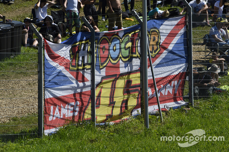 Banner of Valentino Rossi