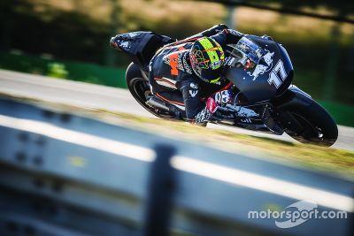 KTM Brno testing