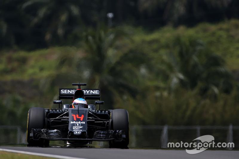 7. Fernando Alonso, McLaren Honda