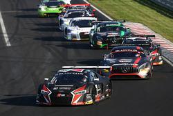#33 Belgian Audi Club Team WRT Audi R8 LMS: Enzo Ide, Christopher Mies
