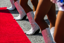 Grid girl's Boots