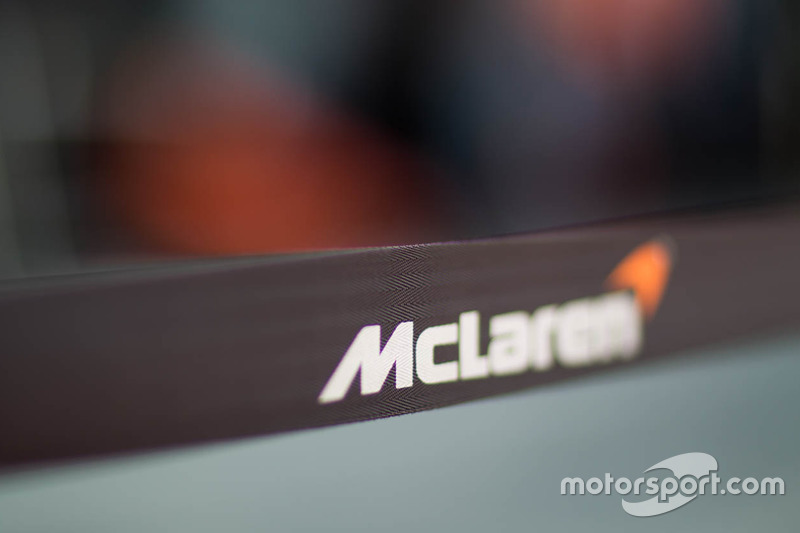 McLaren team area