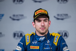 Press Conference. Nicholas Latifi, DAMS