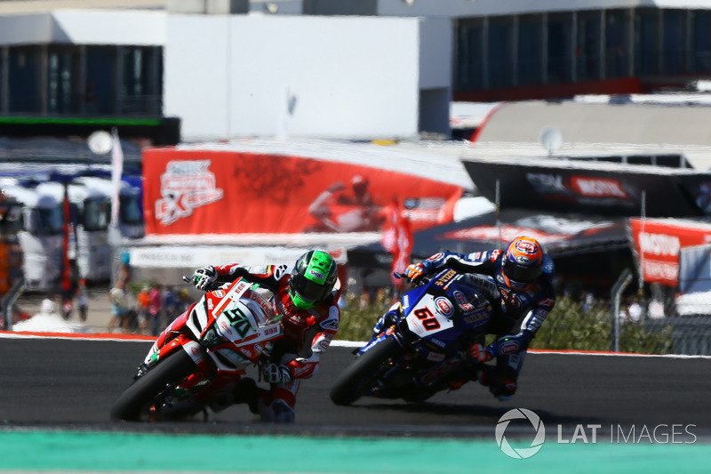 Eugene Laverty, Milwaukee Aprilia, Michael van der Mark, Pata Yamaha