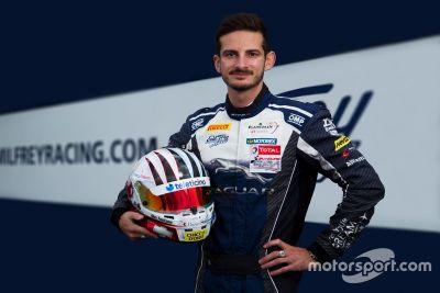 Annuncio Alex Fontana con Emil Frey Racing