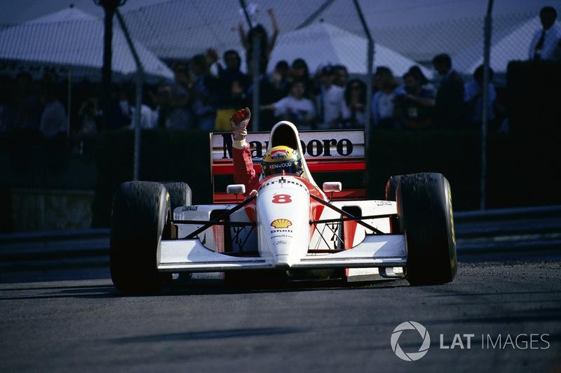 Ayrton Senna, McLaren, GP di Monaco 1993