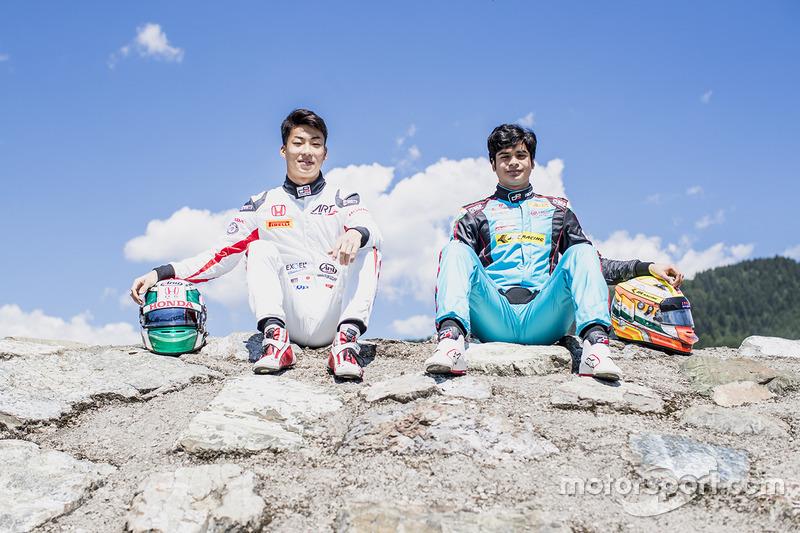 Ниреи Фукузуми, ART Grand Prix, и Арджун Майни, Jenzer Motorsport