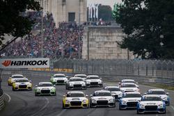 Audi  TT Cup 2017, Norisring, Rennen 2, start