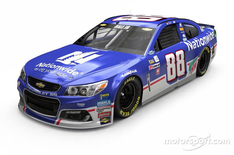 Throwback-Design: Dale Earnhardt Jr., Hendrick Motorsports Chevrolet