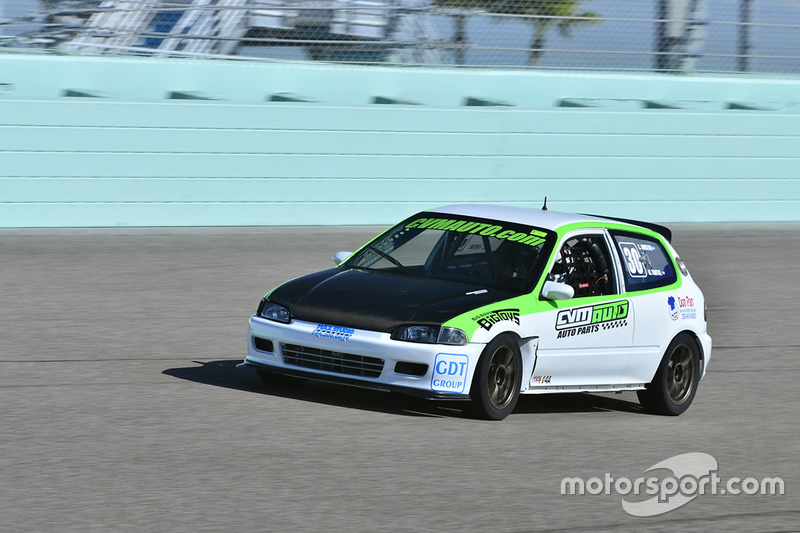 #30 MP4A Honda Civic driven by Cristian Morzan & Hernan Tortul of CVM Auto Racing Team