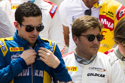 Nicholas Latifi, and Stefano Coletti, Campos Racing
