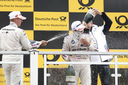 Podium: Maxime Martin, BMW Team RBM, BMW M4 DTM, Bruno Spengler, BMW Team RBM, BMW M4 DTM, Bart Mampaey, Team principal BMW Team RBM