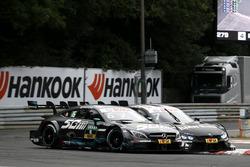 Robert Wickens, Mercedes-AMG Team HWA, Mercedes-AMG C63 DTM, Bruno Spengler, BMW Team RBM, BMW M4 DTM