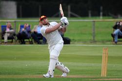 Cricket-Spiel: Rob Huff