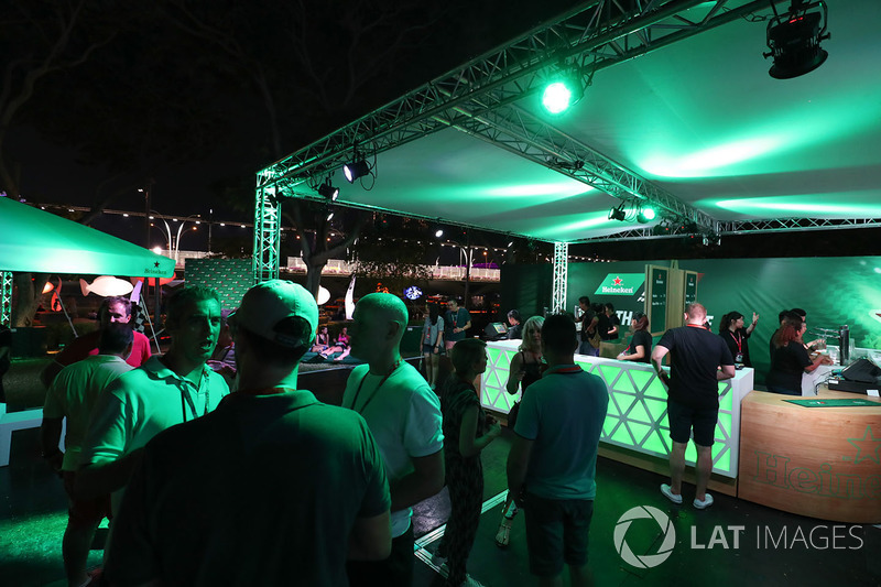 F1-Party in Singapur