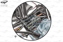 Ferrari F10 rear suspension