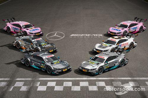 Presentatie Mercedes AMG-C63 DTM