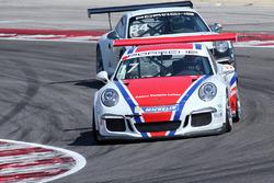 Enrico Fulgenzi nel prologo della Carrera Cup Italia a Misano