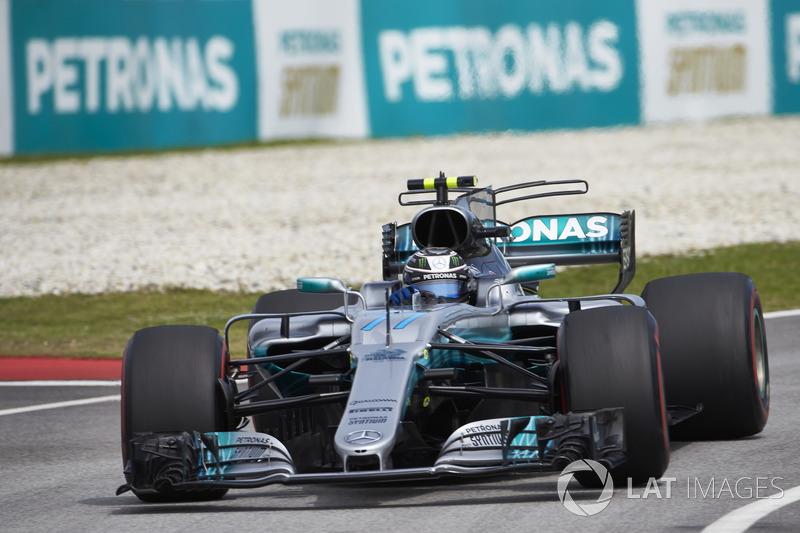 3. Валттері Боттас, Mercedes AMG F1 W08 - 222