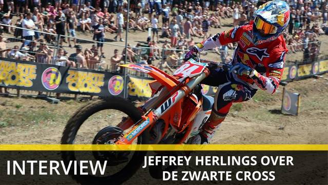 Zwarte Cross: Interview Jeffrey Herlings