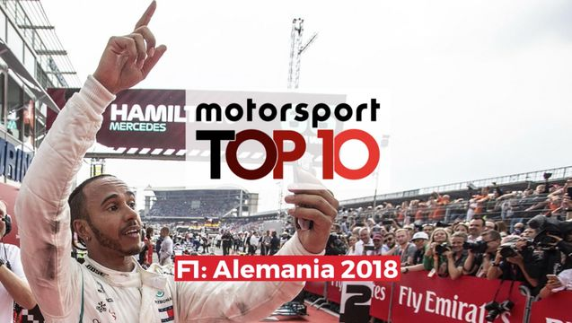 Top10 F1 GP de Alemania