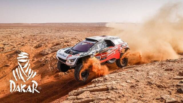 Dakar-Highlights 2021: Etappe 9 - Autos