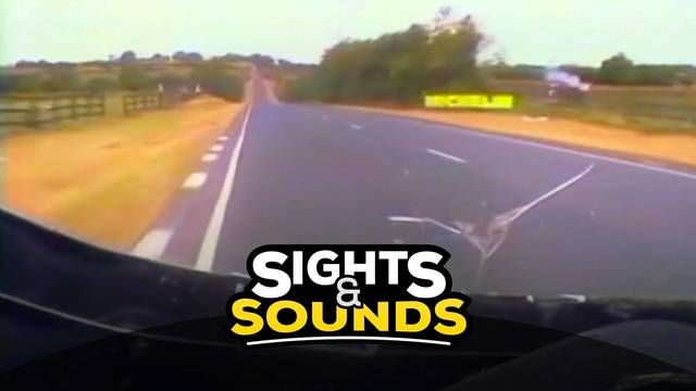 Sights & Sounds: Onboard with Joey Dunlop at Ulster 1995