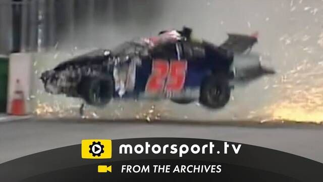 ARCA 2007: Accidente de Ryan Fischer