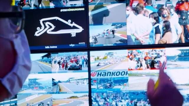 DTM: Behind the scenes DTM TV production