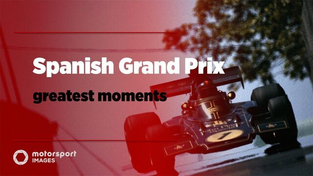 Grand Prix Greats – Spanish GP best photos
