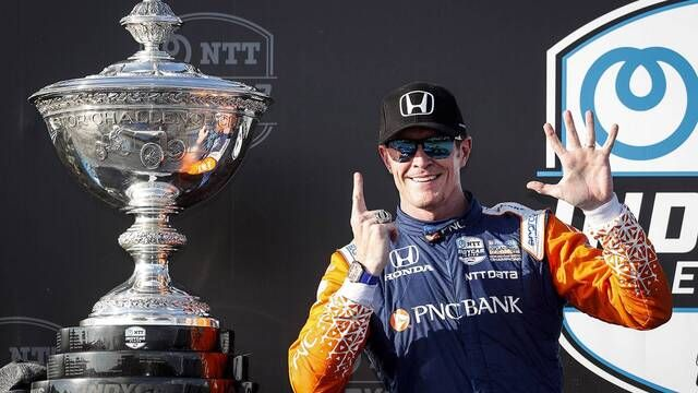 IndyCar: St. Pete GP - Scott Dixon wins his 6th Championship