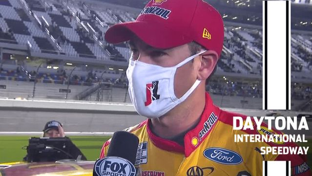 Logano after second-place finish at Daytona Road Course: 'Tried to get all I could'