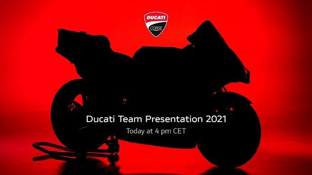 Teampresentatie Ducati MotoGP-team 2021