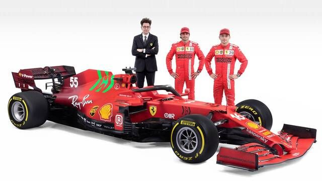 Video Peluncuran Scuderia Ferrari SF21 Full