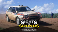 Sights & Sounds: Safari Rally 1988
