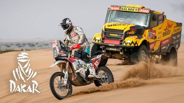 Dakar 2021: Etappe 11 Highlights - Motoren en quads