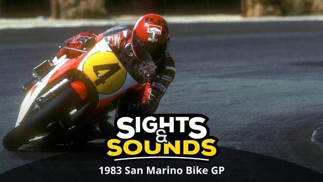 Sights & Sounds: 1983 San Marino Bike GP