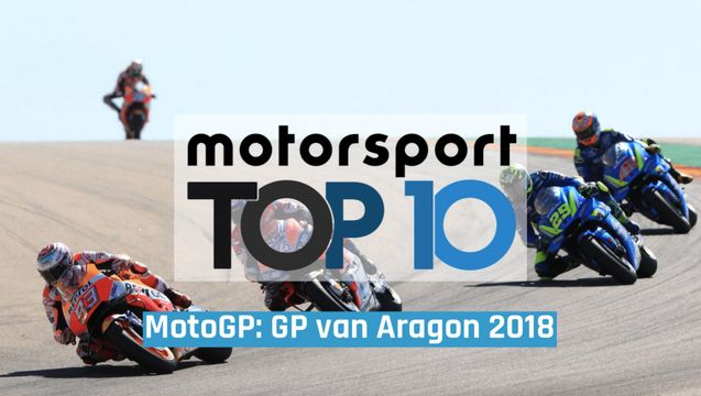 Top-10 MotoGP: Grand Prix van Aragon