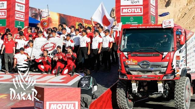Dakar 2020: Day 12 Highlights - Trucks