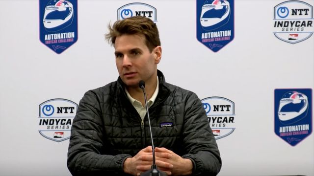 IndyCar: Patricio O'Ward and Will Power interview at COTA