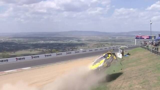 12h de Bathurst: accidente de Dean Canto