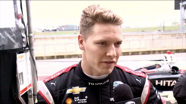 IndyCar: Josef Newgarden interview at COTA