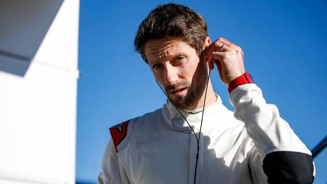 IndyCar: Romain Grosjean tests the car