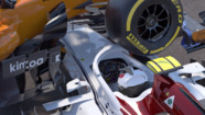 La eficacia del Halo en el accidente de Leclerc y Alonso en Spa