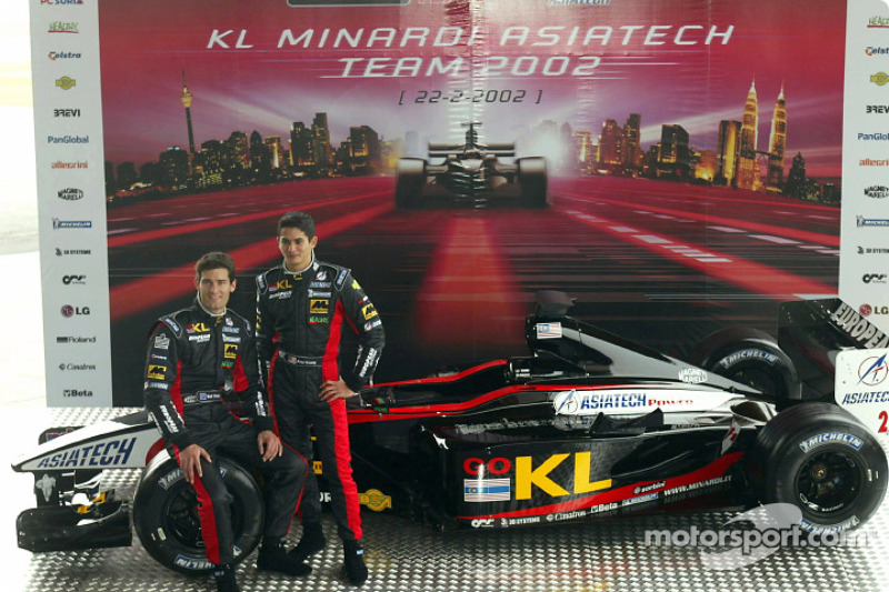 KL Minardi Asiatech PS02 launched in Malaysia
